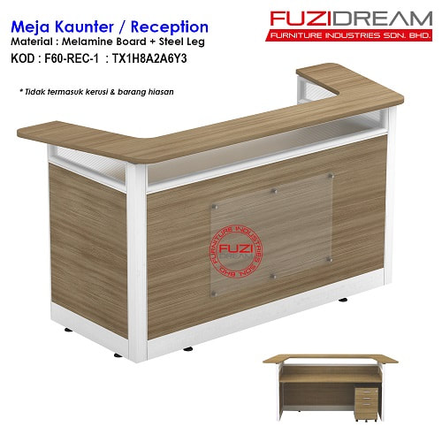 meja-kaunter-counter-table-reception-receptionist-frondesk-table-penyambut-tetamu