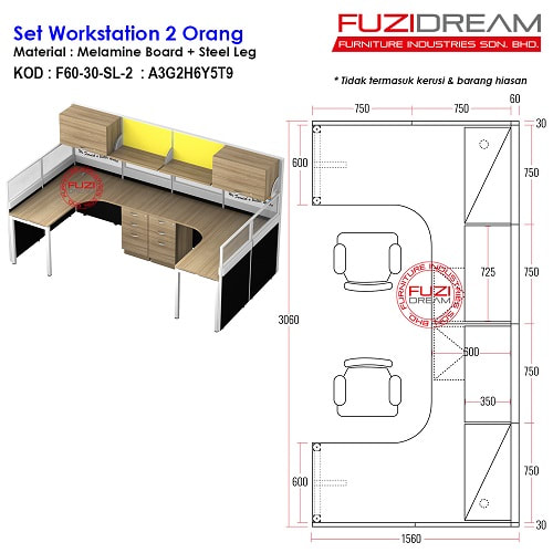 office-workstation-supplier-meja-partition